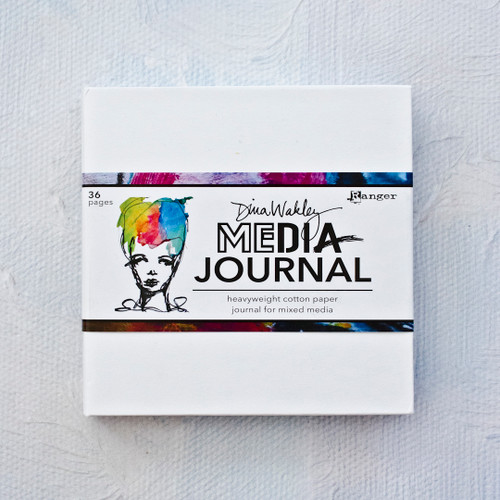 Dina Wakley Media White Journal 6 x 6