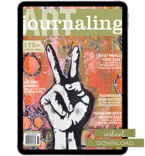 Art Journaling Spring 2018 Instant Download