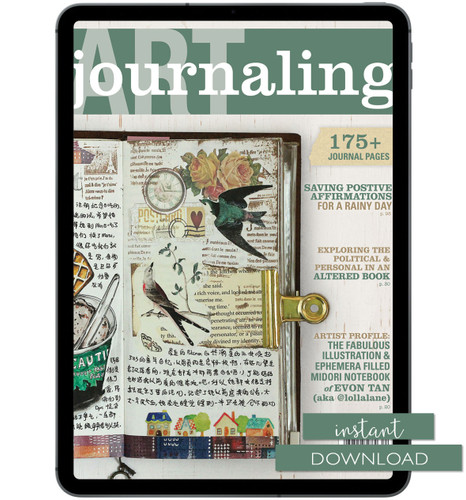 Art Journaling Winter 2017 Instant Download