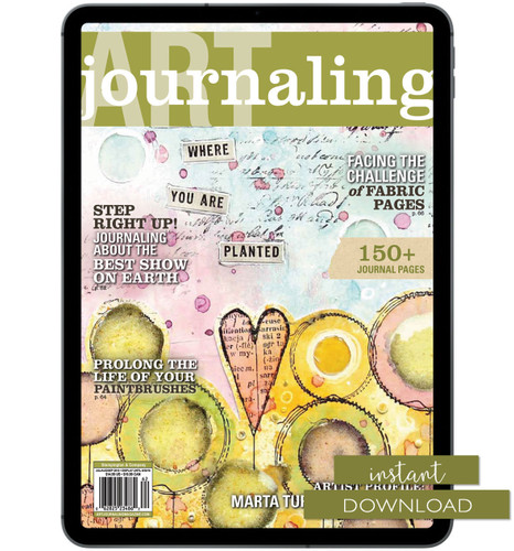 Art Journaling Summer 2016 Instant Download