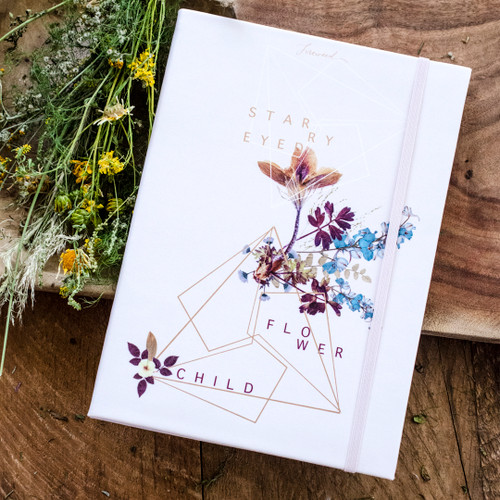 Starry-Eyed Dateless Planner by Papaya Art