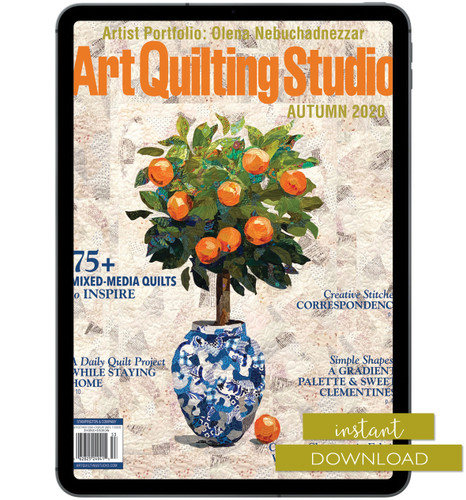 Art Quilting Studio Autumn 2020 Instant Download