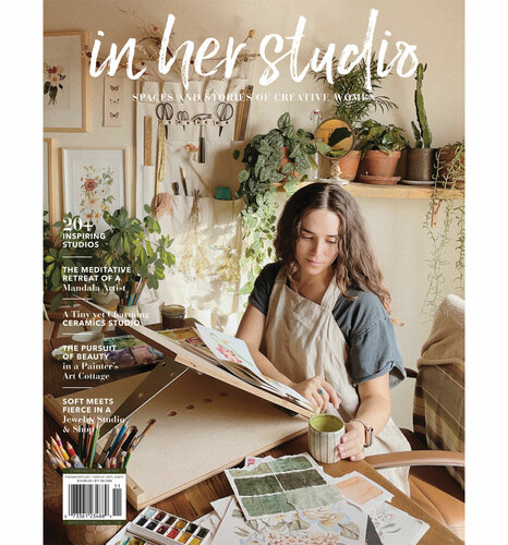 In Her Studio Spring 2021 – Available February 1st