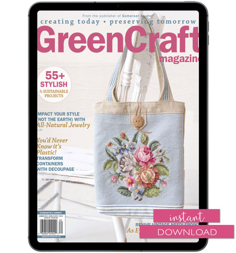 GreenCraft Magazine Summer 2018 Instant Download