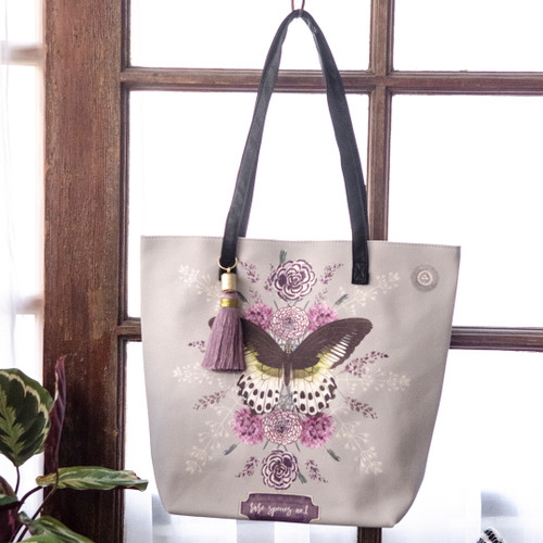 Rare Species Bucket Tote by Papaya Art