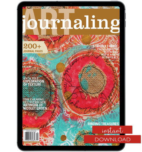Art Journaling Winter 2021 Instant Download