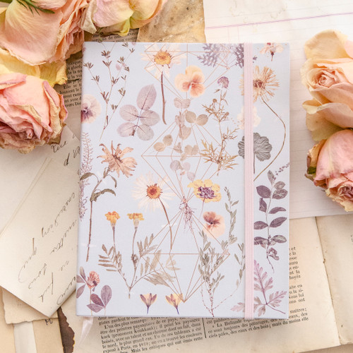 Golden Garden Sketchbook by Papaya Art
