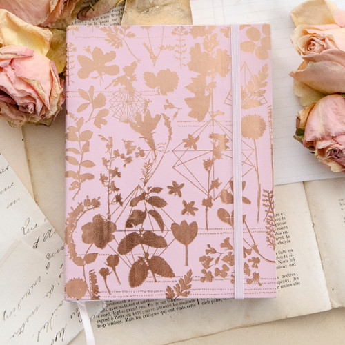 Pink Shine Sketchbook by Papaya Art