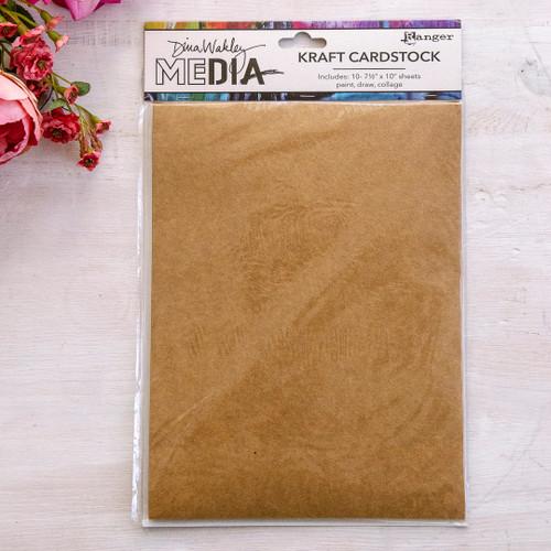 Dina Wakley Media Kraft Cardstock Pack