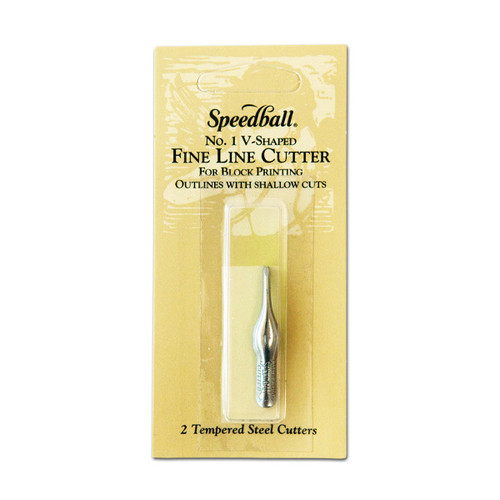 Speedball No. 1 V—Shaped Fine Lino Cutter