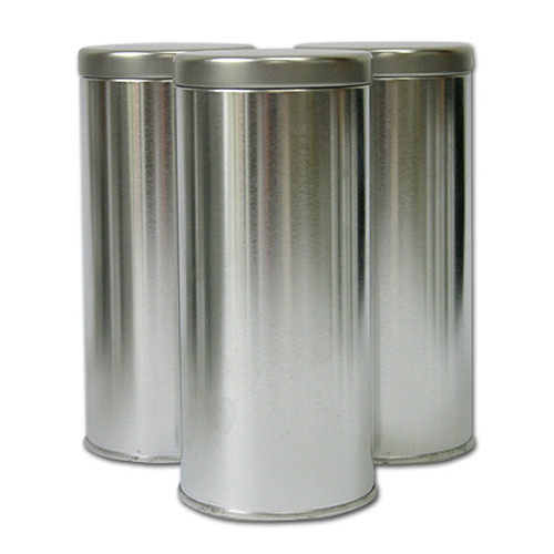 Tea Tins Tall —  Set of 3