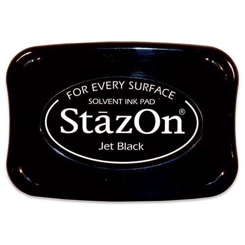 Tsukineko StazOn Inkpad — Jet Black