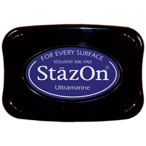Tsukineko StazOn Inkpad — Ultramarine