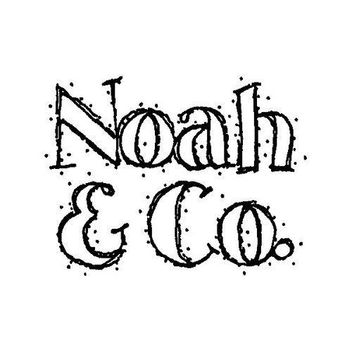 Noah — Large Wood Mounted Stamp by Karen Foster