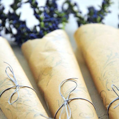 Parchment Paper Bouquet Project