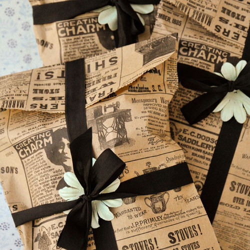 Vintage Goodie Bags Project