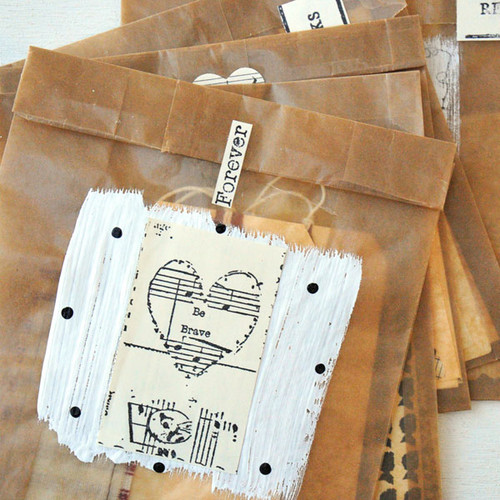 Glassine Goodie Bags Project by Kristen Robinson