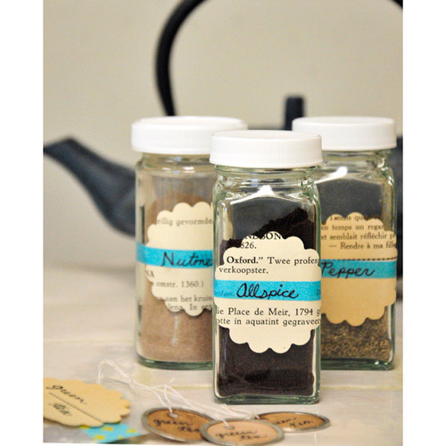 Quick and Easy Spice Storage Project by Lauren Eatherly