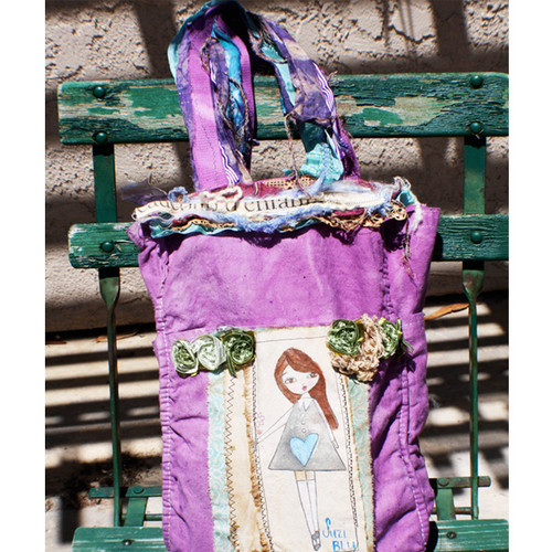 Gypsy Art Tote Bag Project by Suzi Blu