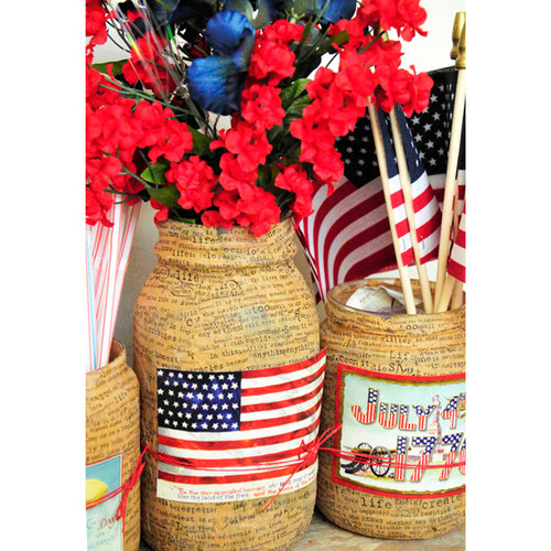 Patriotic Table Décor