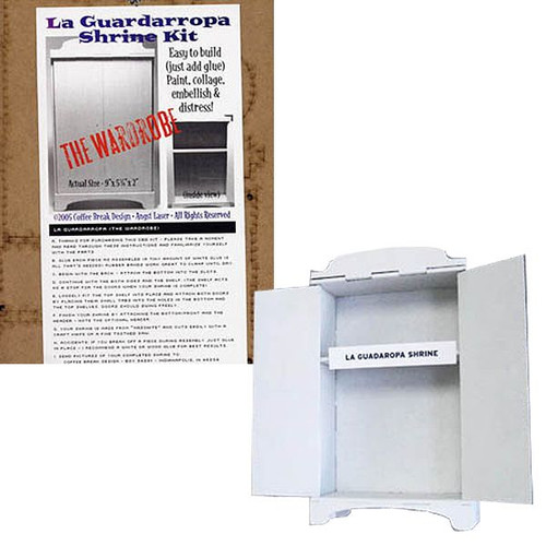 Chipboard The Wardrobe Shrine Kit