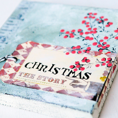 The Story of Christmas Canvas Project by Lucy Hill Edson