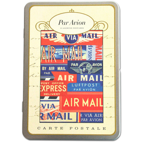 Cavallini & Co. Postcards — Par Avion