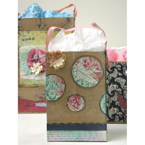 GreenCrafted Gift Bags Project