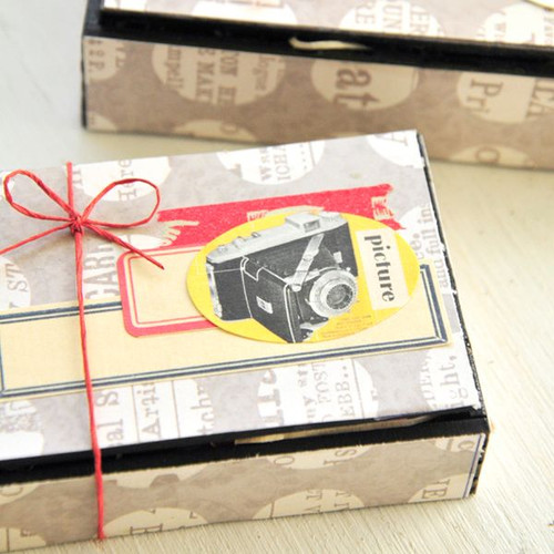 Vintage Retro Gift Boxes Project