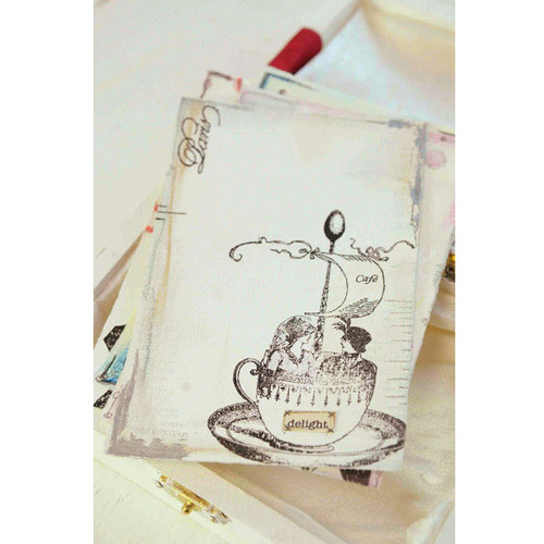 Parisian Inspired Journal Cards Project by Kristen Robinson