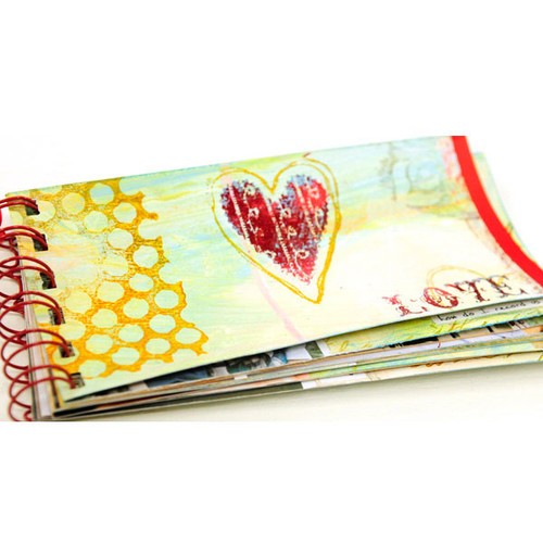 Valentine Love Book Project by Shona Cole
