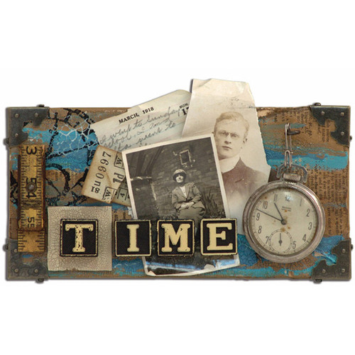 Time Canvas Project by Tim Holtz