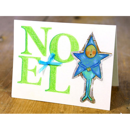 Noel Star Person Project by Marylinn Kelly