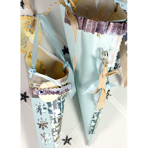 Paper Bella Cones and Joy Project by Kristen Robinson
