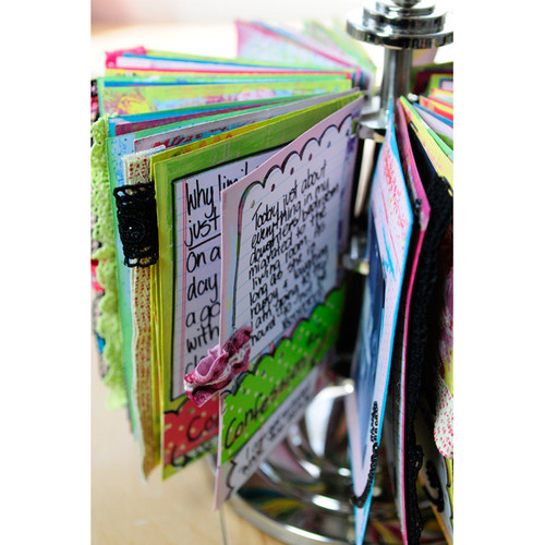 Art Journal Carousel Project