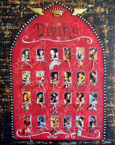 Divine Advent Calendar Project by Belinda Schneider