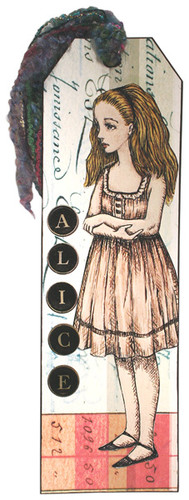 Alice Bookmark Project by Debbie Metti