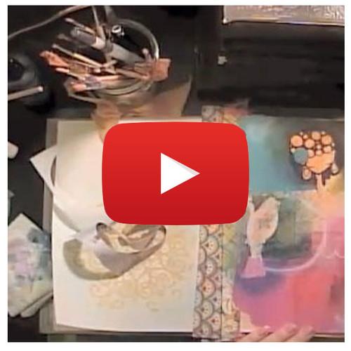 Art Journaling Video By Samantha Kira Harding