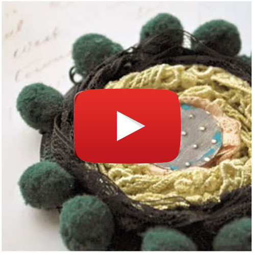 Stamped Flowers Video By Nathalie Kalbach