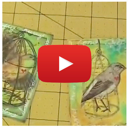 Layering Techniques and ATC Video By Pam Carriker