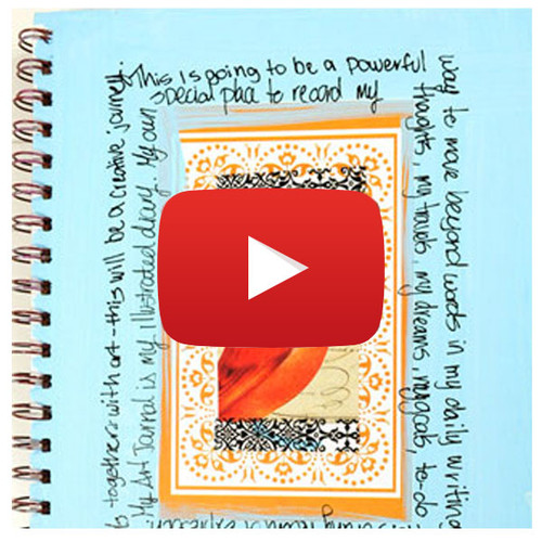 Art Journaling Inspiration Video