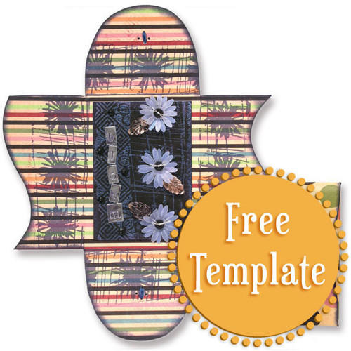 Funky Folder Template
