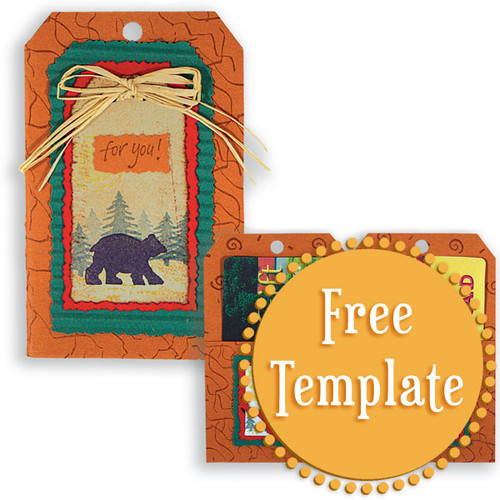 Tag Booklet Template