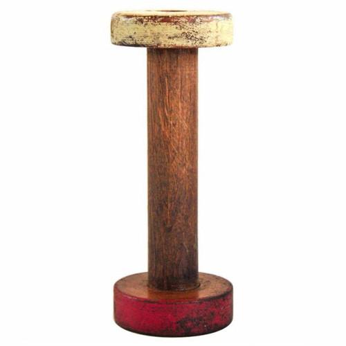 Antique Wood Bobbin Medium