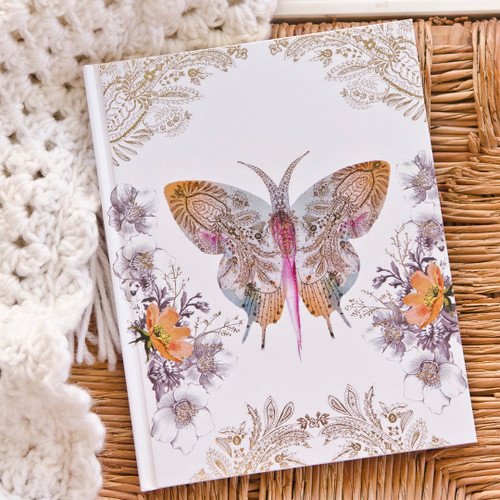 Paisley Butterfly Journal