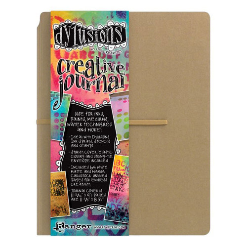 Ranger Ink Dylusions Creative Journal by Dyan Reaveley