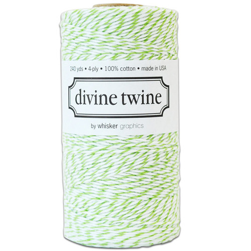 Divine Twine Baker's Twine — Green Apple
