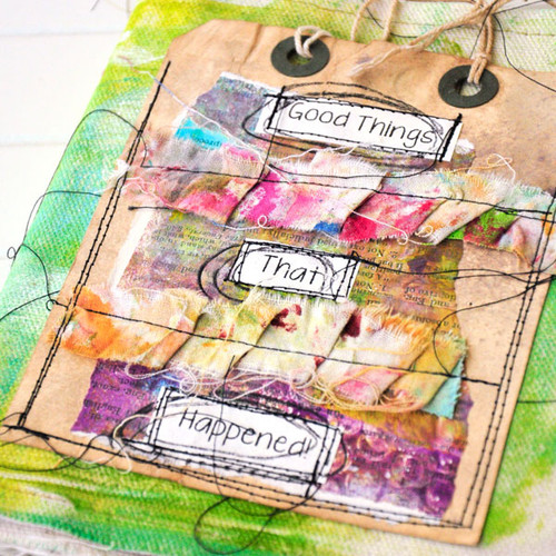 Good Things That Happened Journal Project by Roben-Marie Smith