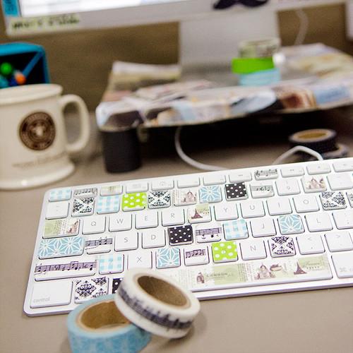 Washi Wonderboard Project by Tawnye Vaughan