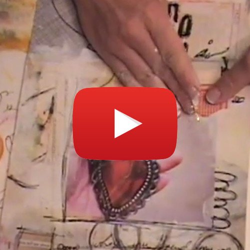 Life is Red Journal Page Video by Roben-Marie Smith